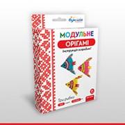 Набор для творчества ЗD оригами Три рыбки 951944 фото