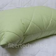Подушка детская однотонная 58*38 СМ (бязь) фото
