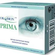 OKVision™ PRIMA мягкие контактные линзы для ежемесячной замены. фото