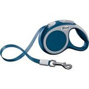 Поводок-рулетка Flexi Vario tape XS 3m 12 kg blue фото