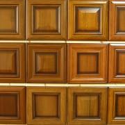 Изготовление рамочных патинированных сборных фасадов. фото