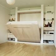 Шкаф-кровать на газовых лифтах фото
