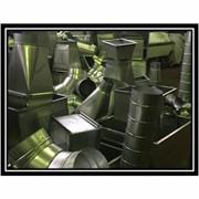 Монтаж и изготовление воздуховодов из оцинкованной стали фото