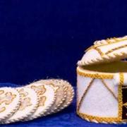 Изделия сувенирные, Юрта с подстаканниками для чая, Юрта, Юрта для чая. фото