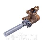 Кран газовый для газовой плиты Indesit C00265593. Оригинал фото