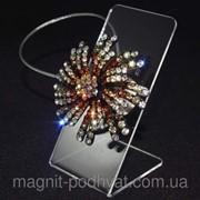 Декоративный магнит подхват для тюлей и штор № 50-101 фото