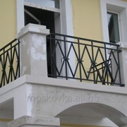Балконное ограждение 8 фото