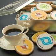 Печенье с логотипом фото