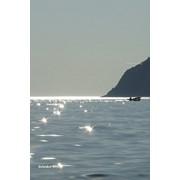 """Фотокартина на холсте """"Море, лодка"""" фото"""