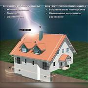Монтаж систем молниезащиты. фото