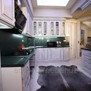 Кухня на заказ из массива ясеня фото
