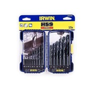 Сверла по металлу HSS Irwin - наб.15пр.(1.5-10.0мм) 10503989 фото