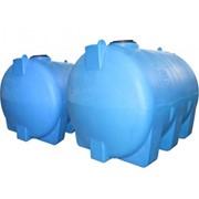 Емкость пластиковая цилиндрическая горизонтальная ЕВГ 1500 фото
