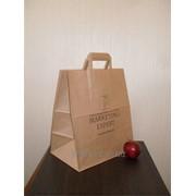 Крафт-пакет (бумажный пакет, пакет из бумаги, бумажные пакеты в Алматы) фото