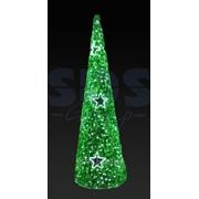 """Фигура """"Ель"""", LED подсветка, высота 5 м, зеленая NEON-NIGHT фото"""