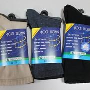 Шкарпетки жіночі і чоловічі (для варикозного розширення вен). Комфортна гумка. фото