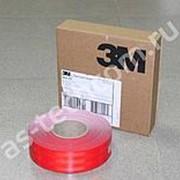 Светоотражающая лента для контурной маркировки 3М красная (погонный метр; для жёстких поверхностей) фото