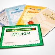 Печать дипломов фото