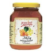 Мед натуральный цветочный липовый 350г фото