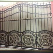 Кованные ворота А00956 фото