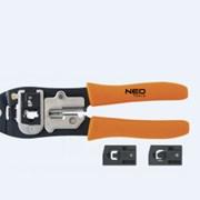 Клещи для обжима телефонных наконечников NEO фото