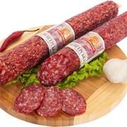 Колбаса сырокопченая Венгерская с мясом птицы ск 1с фото
