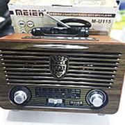 Meier MU-115 ретро радио мп3 фото