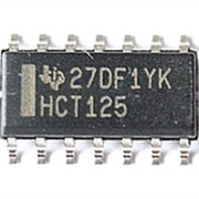 Микросхема HCT125 фото