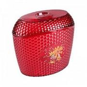 Ёмкость для сыпучих продуктов Мозаика 3л. (красный) фото