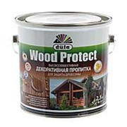 Антисептик для древесины с воском Dufa Wood Protect, 2.5 л фото