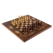 Подарочные шахматы большие Морская карта фото