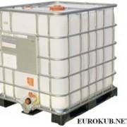 Контейнер 1000 л, кубовые пластиковые емкости 1000 л б/у фото