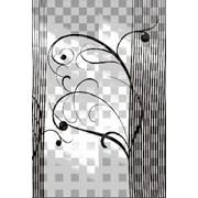 Обработка пескоструйная на 2 стекло артикул 101-11 фото