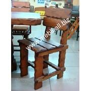 Деревянный стул Кантри фото
