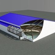 Монтаж бескаркасных и каркасных строений по желанию заказчика. фото