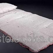 Льняные матрасы Футон с льняной тканью 100х190 см фото
