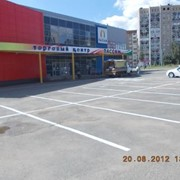 Разметка парковок фото