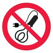 Знак P21-1 Запрещается пользоваться электронагревательными приборами фото