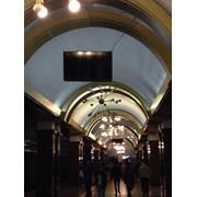 Реклама в метро на плазменных мониторах на станциях метро фото