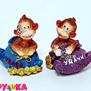 Фигурка копилка обезьяна 14-0391 фото