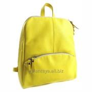 Рюкзак молодежный из натуральной кожи, модель 3516 фото