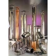 Дымоходные системы, трубы, отводы. фото