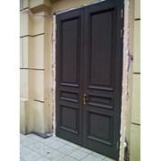 Дверной блок в исторический фонд из массива сосны фото