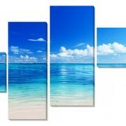 Картина модульная Остров. Побережье фото