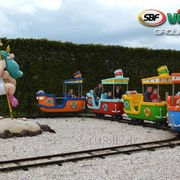 Детский паровозик Boat Train фото