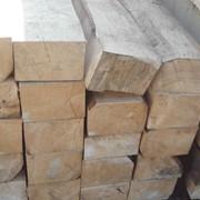 Шпалы деревянные пропитанные и брусья для стрелочных переводов железнодорожных путей фото
