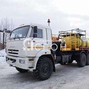 Агрегат кислотной обработки СИН32 на шасси КАМАЗ 43118-50 фото