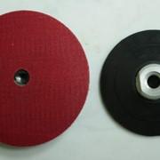 Крепление-липучка для шлифовальных кругов фото