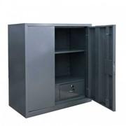 Шкаф металлический, двухдверный, модель Архивный С фото
