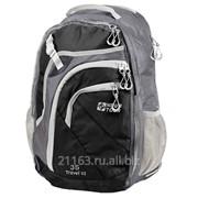 Рюкзак трэвел 35 v2 серый/чёрный код товара: 00039501 фото